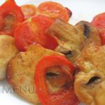Как приготовить свежие шампиньоны жареные с овощами