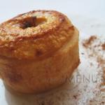 Фаршированные яблоки запеченные в духовке (с медом и орехами)