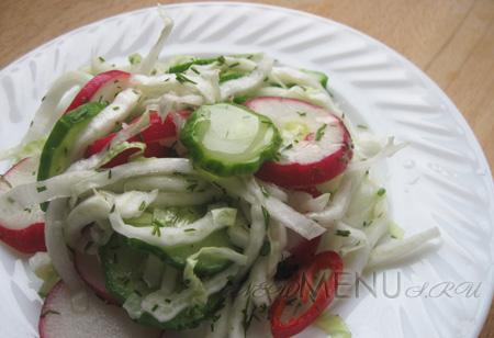 Постный салат из пекинской капусты — заправка для пекинской капусты