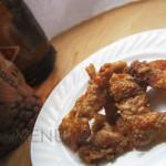 Блюда из куриных шкурок — Жареная куриная кожа