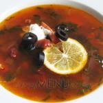 Рецепт сборной мясной солянки