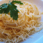 Как варить спагетти в кастрюле — спагетти с сыром
