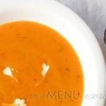 Как приготовить тыквенный суп-пюре с чесноком
