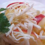 Салат из капусты для похудения с корнем сельдерея