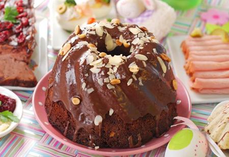 Необычный рецепт теста для пасхи – Печем шоколадный кулич