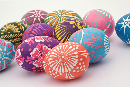 Как разукрасить яйца на Пасху (копилка идей)