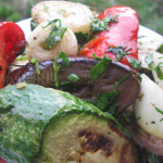 Овощи на мангале — рецепт маринада для овощей, запеченных на костре
