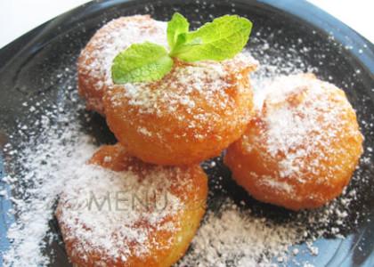 Рецепт из детства: творожные пончики-шарики во фритюре