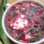 Рецепт холодного супа «Свекольник»