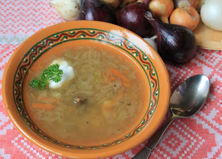 Рецепт кислых щей из квашеной капусты