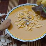 Тайский суп из тыквы с кокосовым молоком