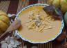 Постный тыквенный суп-пюре с кокосовым молоком