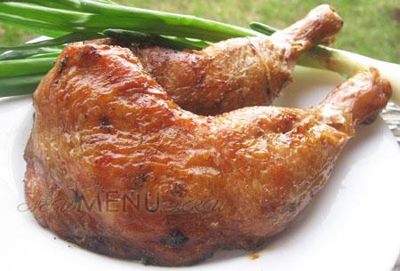 Маринад для шашлыка из куриных ножек и бедрышек