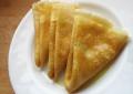 Тонкие блины с дырочками (тесто на кефире)